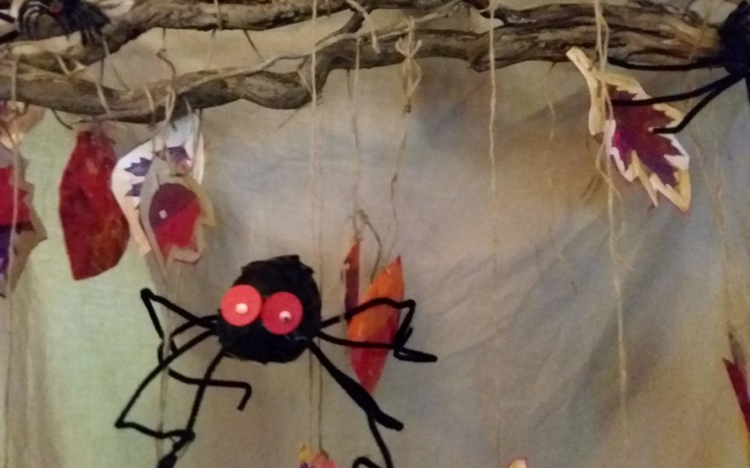 Halloween Spiders with Personality